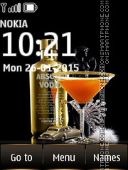 Vodka Absolut 02 theme screenshot