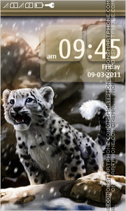 Snow Leopard 04 theme screenshot