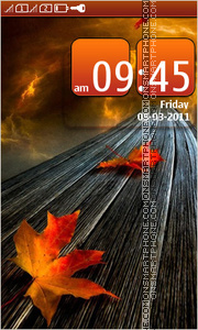 Autumn 05 theme screenshot