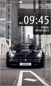 Ferrari 614 theme screenshot