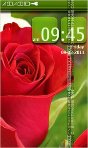 Red Rose 12 theme screenshot