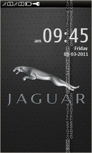 Jaguar 15 theme screenshot