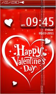 Happy Valentines Day 17 es el tema de pantalla