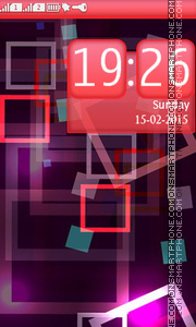 Colorful Abstract Frames theme screenshot