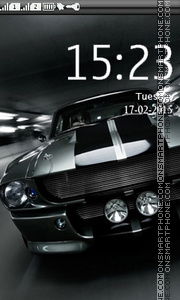 Shelby GT theme screenshot