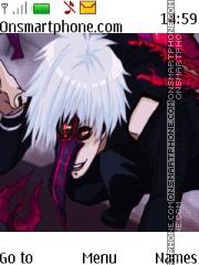 Tokyo Ghoul Kakuja theme screenshot