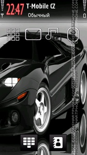 Sport Car 09 theme screenshot