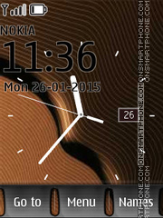 Big Clock theme screenshot