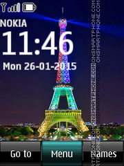 Paris 18 tema screenshot