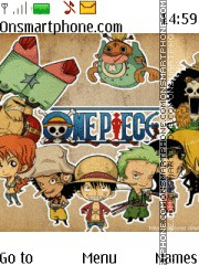 One Piece tema screenshot