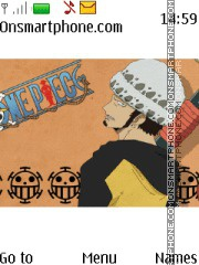 Trafalgar Law theme screenshot