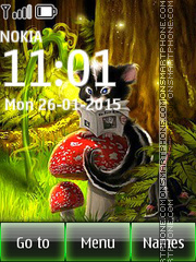 Talking Cat Tom tema screenshot