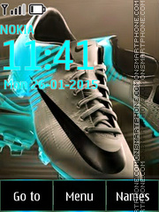 Nike Shoes 01 tema screenshot