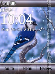 Blue Bird 01 theme screenshot