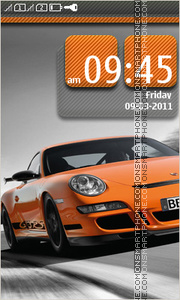 Porsche 911 10 theme screenshot