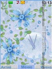 Tenderness flowers theme screenshot
