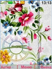 Colors Flowers theme screenshot