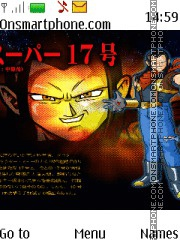 Dragon Ball Androide 17 tema screenshot
