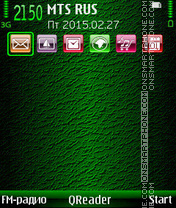 In-Green theme screenshot