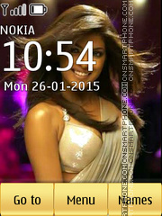 Priyanka Chopra 11 Theme-Screenshot