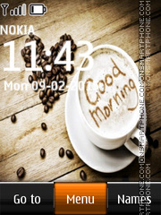 Good Morning 02 tema screenshot