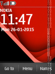 Nokia Ultimate theme screenshot