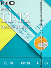 Android Lollipop tema screenshot