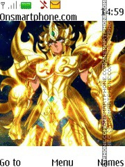 Saint Seiya Soul of Gold tema screenshot
