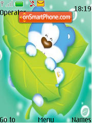 Cute Bear 01 theme screenshot