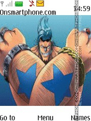 Franky theme screenshot
