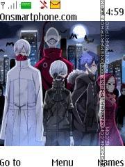 Tokyo Ghoul Aogiri theme screenshot