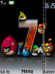 Angry Birds 2029 tema screenshot