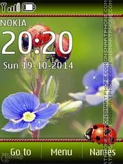 Скриншот темы Ladybug 05