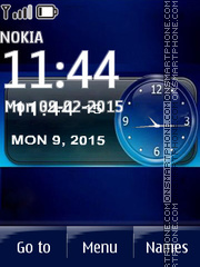 iPhone Clock 03 theme screenshot