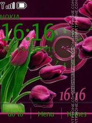 Tulips tema screenshot