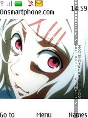 Tokyo Ghoul Suzuya theme screenshot