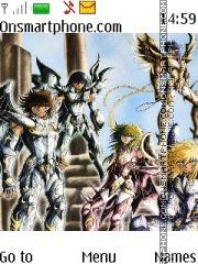Saint Seiya tema screenshot