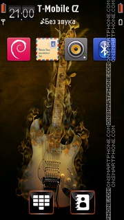 Musical instrument - Guitar tema screenshot