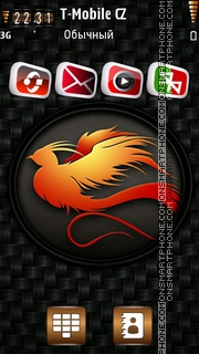 Phoenix Bird theme screenshot