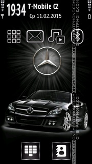 Mercedes Cabrio 01 theme screenshot
