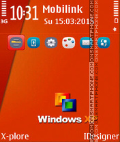 Window window theme screenshot