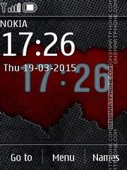 Abstract Clock 04 Theme-Screenshot