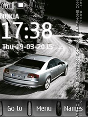 Audi HD theme screenshot