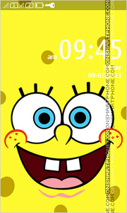 Spongebob 27 theme screenshot