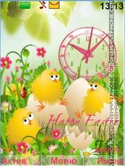 Скриншот темы Happy Easter