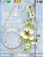 Tenderness spring Theme-Screenshot