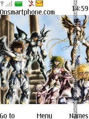 Saint Seiya theme screenshot