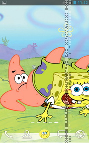 Spongebob Squarepants 01 theme screenshot