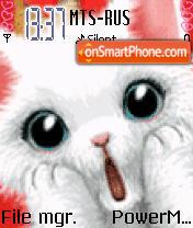 Cat Animated theme screenshot