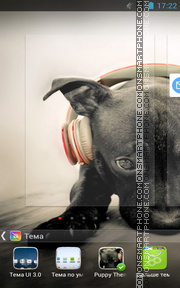 Puppy 11 theme screenshot